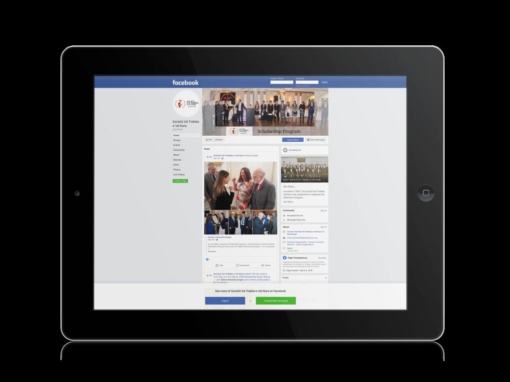 Facebook Set-Up - The Green Thread - Digital Support