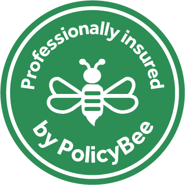 Policy Bee Insurance Sticker - The Green Thread
