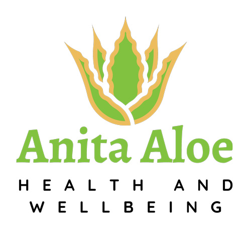 Website Design and Build- Health and Wellbeing Products --Anita Aloe Logo Design 3
